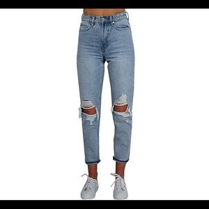 Denim - Casual Women's ripped Jeans